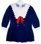 "<img src=""https://p11.secure.hostingprod.com/@grammies-attic.com/ssl/images/blue-sold-1.gif""> Bonnie Jean Navy Velvet Sailor Dress with White Lace Trimmed Collar"