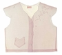 """<img src=""""https://p11.secure.hostingprod.com/@grammies-attic.com/ssl/images/blue-sold-1.gif""""> Heirloom 1930s Pale Pink Diaper Shirt with Delicate Embroidery and Angel Sleeves"""
