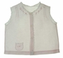 """<img src=""""https://p11.secure.hostingprod.com/@grammies-attic.com/ssl/images/blue-sold-1.gif""""> Heirloom 1940s Pink Diaper Shirt with Pintucks Lace and Embroidery"""