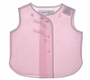 """<img src=""""https://p11.secure.hostingprod.com/@grammies-attic.com/ssl/images/blue-sold-1.gif""""> Vintage 1960s Pink Diaper Shirt with White Embroidery"""