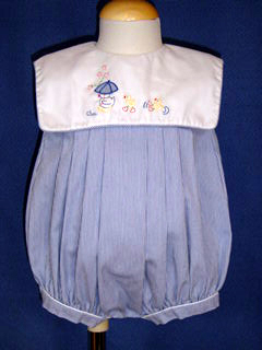"<img src=""https://p11.secure.hostingprod.com/@grammies-attic.com/ssl/images/blue-sold-1.gif""> Petit Ami Navy Striped Bubble with Duck Embroidery and Matching Hat"