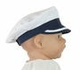 NEW Sarah Louise Navy and White Captain's Hat