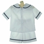 "<img src=""https://p11.secure.hostingprod.com/@grammies-attic.com/ssl/images/blue-sold-1.gif""> NEW Rosalina White Sailor Shorts Set with Navy Trim"