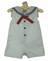 "<img src=""https://p11.secure.hostingprod.com/@grammies-attic.com/ssl/images/blue-sold-1.gif""> NEW Petit Ami White Sleeveless Sailor Romper"