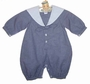 """<img src=""""https://p11.secure.hostingprod.com/@grammies-attic.com/ssl/images/blue-sold-1.gif""""> NEW Sophie Dess Navy Checked Sailor Suit with White Collar"""