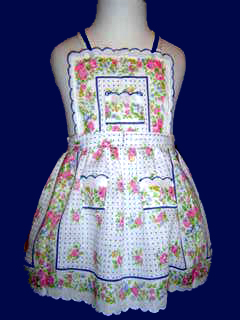 "<img src=""https://p11.secure.hostingprod.com/@grammies-attic.com/ssl/images/blue-sold-1.gif""> Adorable Retro Hanky Pinafore Style Sundress"