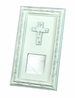 "<img src=""https://p11.secure.hostingprod.com/@grammies-attic.com/ssl/images/blue-sold-1.gif"">  NEW White Keepsake Picture Frame with Cross"