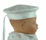NEW White Silk Shantung Beret Style Hat