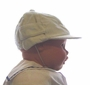 NEW Corduroy Hat with Convertible Earflaps and Embroidered Train