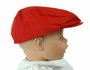 "<img src=""https://p11.secure.hostingprod.com/@grammies-attic.com/ssl/images/blue-sold-1.gif"">  NEW Red Cotton Newsboy Hat"