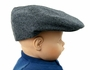 "<img src=""https://p11.secure.hostingprod.com/@grammies-attic.com/ssl/images/blue-sold-1.gif""> NEW Black and White Herringbone Vintage Style Newsboy Hat"