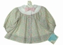 "<img src=""https://p11.secure.hostingprod.com/@grammies-attic.com/ssl/images/blue-sold-1.gif""> NEW Polly Flinders Pastel Flowered Dress with Pink Bow"