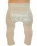 NEW Ivory Ruffle Bottom Rhumba Tights for Babies