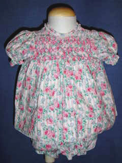 "<img src=""https://p11.secure.hostingprod.com/@grammies-attic.com/ssl/images/blue-sold-1.gif""> Polly Flinders Tiny Pink Floral Dress with Matching Diaper Cover"