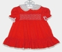 "<img src=""https://p11.secure.hostingprod.com/@grammies-attic.com/ssl/images/blue-sold-1.gif""> Polly Flinders Red Smocked Dress with White Eyelet Collar and Embroidered Flowers"