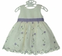 "<img src=""https://p11.secure.hostingprod.com/@grammies-attic.com/ssl/images/blue-sold-1.gif"">  Cinderella Ivory and Lavender Flowered Dress with Matching Sweater"