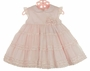 "<img src=""https://p11.secure.hostingprod.com/@grammies-attic.com/ssl/images/blue-sold-1.gif""> NEW Sarah Louise Pink Dress with Tiers of Ruffles and Rosebud Cluster"