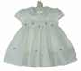 "<img src=""https://p11.secure.hostingprod.com/@grammies-attic.com/ssl/images/blue-sold-1.gif""> NEW Sarah Louise Vintage Style Ivory Smocked Dress with Rosebud Embroidery"