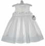 "<img src=""https://p11.secure.hostingprod.com/@grammies-attic.com/ssl/images/blue-sold-1.gif""> NEW Sarah Louise White Linen Dress with Fagoting and Embroidered Flowers"