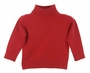 NEW Sarah Louise Red Knit Turtleneck Sweater