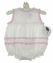 NEW Sarah Louise Pink Dotted Bubble with Gingham Ruffles
