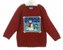 "<img src=""https://p11.secure.hostingprod.com/@grammies-attic.com/ssl/images/blue-sold-1.gif""> NEW Red Sweater with Snowman Design"