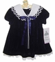 "<img src=""https://p11.secure.hostingprod.com/@grammies-attic.com/ssl/images/blue-sold-1.gif""> NEW Rare Editions Navy Velvet Sailor Dress"