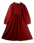 "<img src=""https://p11.secure.hostingprod.com/@grammies-attic.com/ssl/images/blue-sold-1.gif"">NEW Sophie Dess Red Velvet Smocked Dress with Long Sleeves"