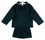 NEW Cracker Jack Girl's Sailor Suit with Black Tie and White Sailor Hat