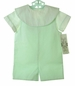 "<img src=""https://p11.secure.hostingprod.com/@grammies-attic.com/ssl/images/blue-sold-1.gif""> NEW Victorian Heirlooms Lime Green and White Shortall Set with Portrait Collar"