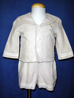 "<img src=""https://p11.secure.hostingprod.com/@grammies-attic.com/ssl/images/blue-sold-1.gif""> Boy's Good Lad Linen Sailor Shortall & Jacket Set"