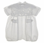 "<img src=""https://p11.secure.hostingprod.com/@grammies-attic.com/ssl/images/blue-sold-1.gif""> NEW Victorian Heirlooms White Linen Romper with Battenburg Yoke"