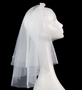 NEW Sarah Louise Veil with Flowered Headband
