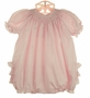 "<img src=""https://p11.secure.hostingprod.com/@grammies-attic.com/ssl/images/blue-sold-1.gif"">  NEW Petit Ami Pink Dotted Bishop Smocked Bubble with Ruffled Bottom"
