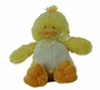 NEW Fuzzy Yellow Duck with Rattle Sound