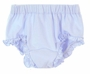 NEW Blue Cotton Knit Diaper Cover with Ruffled Trim