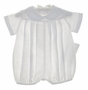 "<img src=""https://p11.secure.hostingprod.com/@grammies-attic.com/ssl/images/blue-sold-1.gif""> NEW Chabre White Linen Romper with Pleated Front"