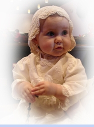 Heirloom 1880s Ivory Silk Crocheted Christening Bonnet with Silk Ribbons (BB0577)