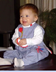 <strong>Baby Savannah in Birthday Bubble</strong>