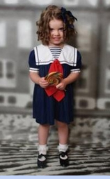 <strong>Baby Aleta in Sailor Dress</strong>