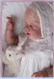NEW Sarah Louise White Smocked Dress with Embroidered Flowers and Satin Ribbon Trim (CC0842)