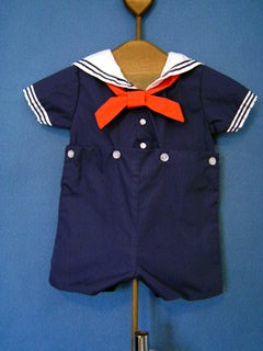 "<img src=""https://p11.secure.hostingprod.com/@grammies-attic.com/ssl/images/blue-sold-1.gif""> Boy's Petit Ami Classic Navy Button On Sailor Suit"