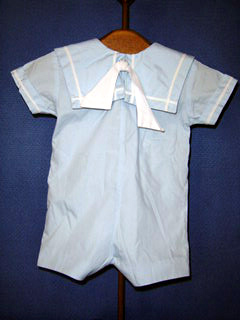 "<img src=""https://p11.secure.hostingprod.com/@grammies-attic.com/ssl/images/blue-sold-1.gif""> Boy's C. I. Castro Pale Blue Zip Up Sailor Shortall"