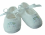 NEW Willbeth White Mary Jane Shoes with Embroidered Ducks
