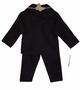 NEW Black Cracker Jack Sailor Suit with Black Tie and White Sailor Hat