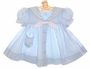 "<img src=""https://p11.secure.hostingprod.com/@grammies-attic.com/ssl/images/blue-sold-1.gif""> C. I. Castro Pale Blue Classic Sailor Dress with White Tie for Babies and Little Girls"