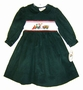"<img src=""https://p11.secure.hostingprod.com/@grammies-attic.com/ssl/images/blue-sold-1.gif""> NEW Rosalina Green Corduroy Smocked Dress with Holiday Embroidery"