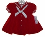"<img src=""https://p11.secure.hostingprod.com/@grammies-attic.com/ssl/images/blue-sold-1.gif""> C. I. Castro Toddler Sailor Dress in Red or Navy Velvet"