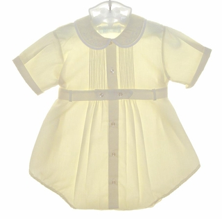 8b722ed43 Pastels Baby Romper,Feltman Brothers Baby Clothes,Feltman Brothers Baby  Dress,Feltman Brothers Christening outfit,Feltman Baby Boy Outfit