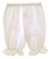 "<img src=""https://p11.secure.hostingprod.com/@grammies-attic.com/ssl/images/blue-sold-1.gif""> NEW Ecru (Ivory) Pantaloon Style Bloomers with Eyelet Trim for Babies"